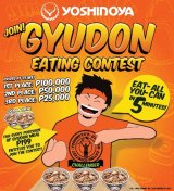 Yoshinoya's Gyudon Eating Contest