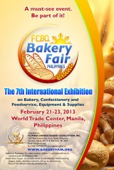 The 7th Bakery Fair – February 21-23, 2013 at the World Trade Center