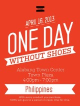 Can You Go For One Day Without Shoes?